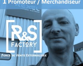 [ #ExternalisezSimplement – 1 promoteur merchandiseur GRAND OUEST (H/F) basé sur l'axe Nantes-Bordeaux ]